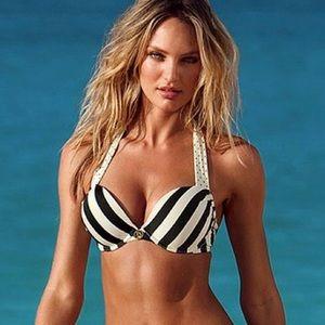 VS Miraculous Bombshell Padded Bikini Top 34B